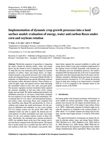 Implementation of Dynamic Crop Growth Pr... by Song, Y.