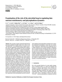 Examination of the Role of the Microbial... by Li, Y.