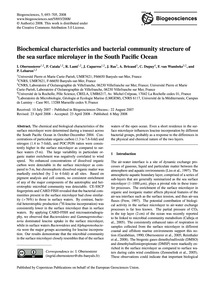 Biochemical Characteristics and Bacteria... by Obernosterer, I.