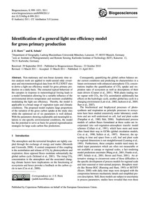 Identification of a General Light Use Ef... by Horn, J. E.
