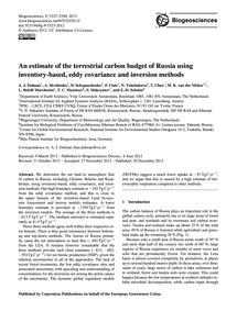 An Estimate of the Terrestrial Carbon Bu... by Dolman, A. J.