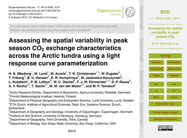 Assessing the Spatial Variability in Pea... by Mbufong, H. N.