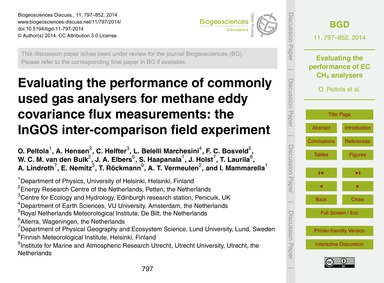 Evaluating the Performance of Commonly U... by Peltola, O.