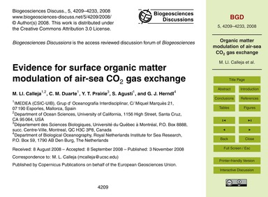 Evidence for Surface Organic Matter Modu... by Calleja, M. Ll.