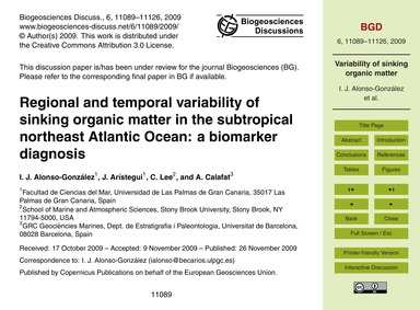 Regional and Temporal Variability of Sin... by Alonso-gonzález, I. J.