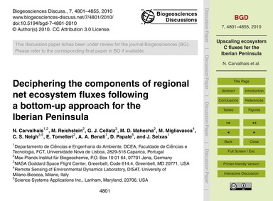 Deciphering the Components of Regional N... by Carvalhais, N.