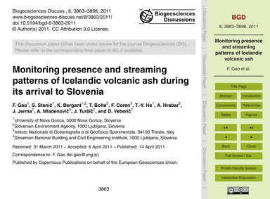 Monitoring Presence and Streaming Patter... by Gao, F.