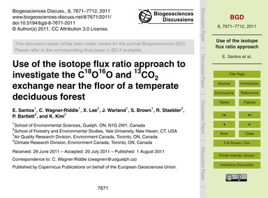 Use of the Isotope Flux Ratio Approach t... by Santos, E.