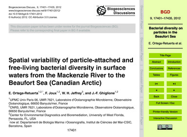 Spatial Variability of Particle-attached... by Ortega-retuerta, E.