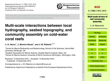 Multi-scale Interactions Between Local H... by Henry, L.-a.