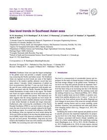 Sea Level Trends in Southeast Asian Seas... by Strassburg, M. W.