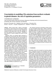 Uncertainties in Modelling Ch4 Emissions... by Berrittella, C.