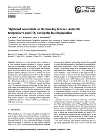 Tightened Constraints on the Time-lag Be... by Pedro, J. B.
