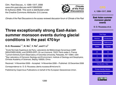 Three Exceptionally Strong East-asian Su... by Rousseau, D.-d.