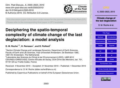 Deciphering the Spatio-temporal Complexi... by Roche, D. M.