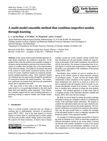 A Multi-model Ensemble Method That Combi... by Van Den Berge, L. A.