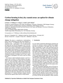 Carbon Farming in Hot, Dry Coastal Areas... by Becker, K.