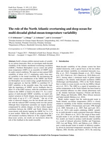 The Role of the North Atlantic Overturni... by Schleussner, C. F.