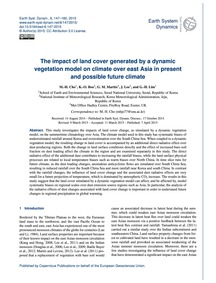 The Impact of Land Cover Generated by a ... by Cho, M.-h.