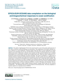 Epoca/Eur-oceans Data Compilation on the... by Nisumaa, A.-m.