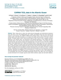 Carina Tco2 Data in the Atlantic Ocean :... by Pierrot, D.