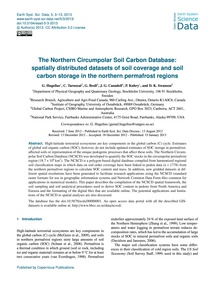 The Northern Circumpolar Soil Carbon Dat... by Hugelius, G.