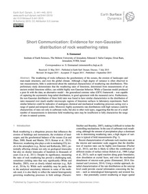 Short Communication: Evidence for Non-ga... by Emmanuel, S.