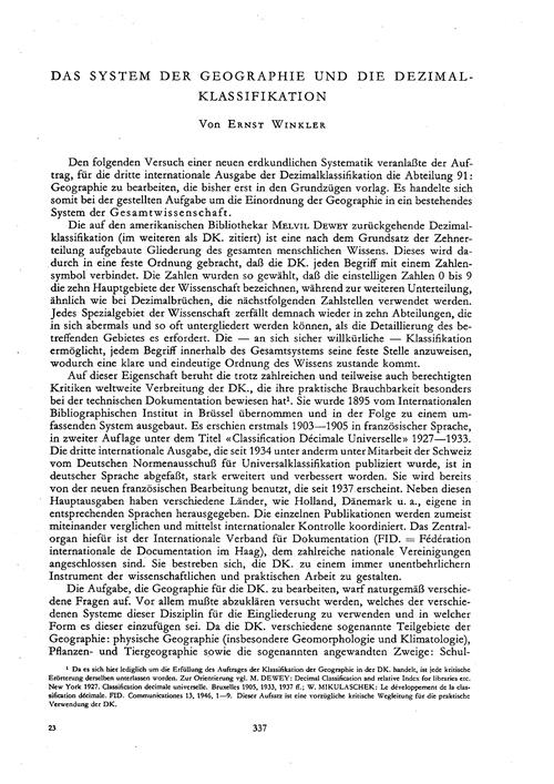 Das System Der Geographie Und Die Dezima... by Winkler, E.