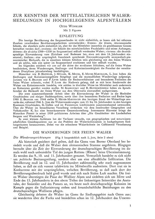 Zur Kenntnis Der Mittelalterlichen Walse... by Winkler, O.