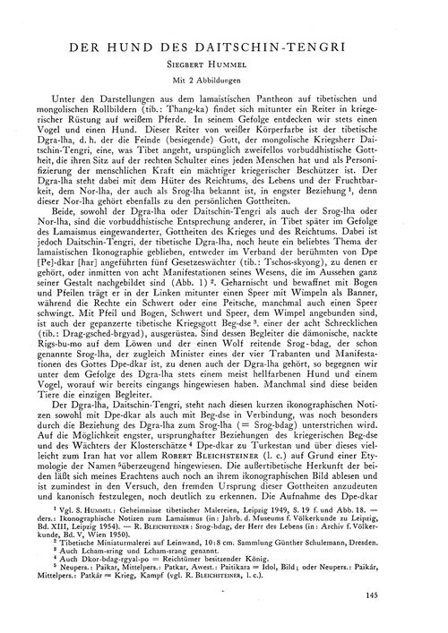 Der Hund Des Daitschin-tengri : Volume 1... by Hummel, S.