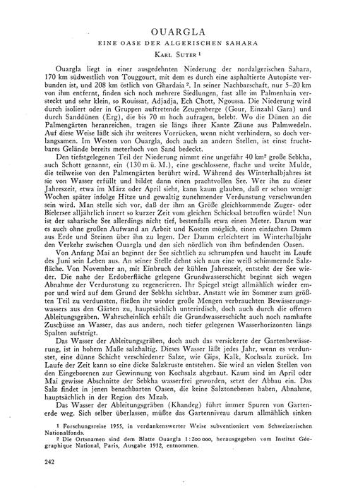 Ouargla : Eine Oase Der Algerischen Saha... by Suter, K.