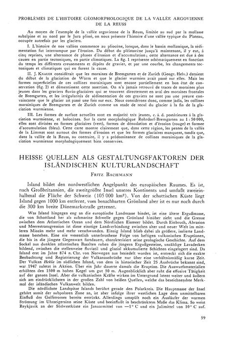 Heisse Quellen Als Gestaltungsfaktoren D... by Bachmann, F.