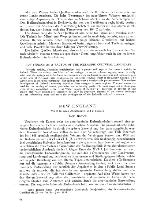 New England : Volume 11, Issue 1 (30/11/... by Boesch, H.