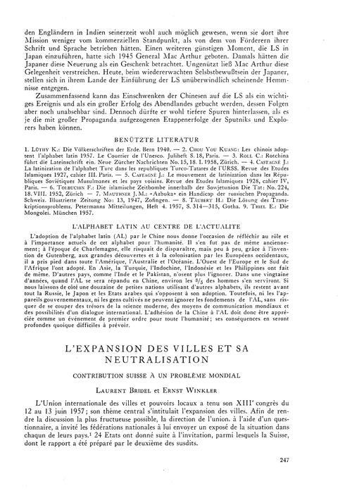 L'Expansion Des Villes Et Sa Neutralisat... by Bridel, L.