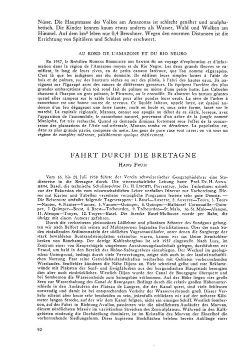 Fahrt Durch Die Bretagne : Volume 14, Is... by Früh, H.