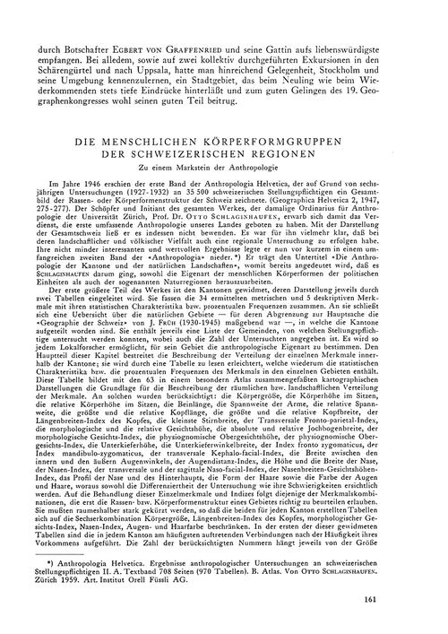 Die Menschlichen Körperformgruppen Der S... by Winkler, E.