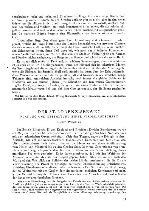 Der St. Lorenz-seeweg : Planung Und Gest... by Winkler, E.