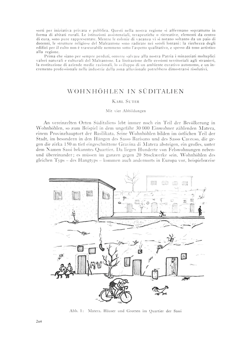 Wohnhöhlen in Süditalien : Volume 18, Is... by Suter, K.
