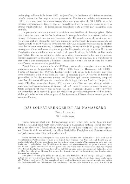 Das Solfatarengebiet Am Námaskard : Volu... by Rillmann, F.