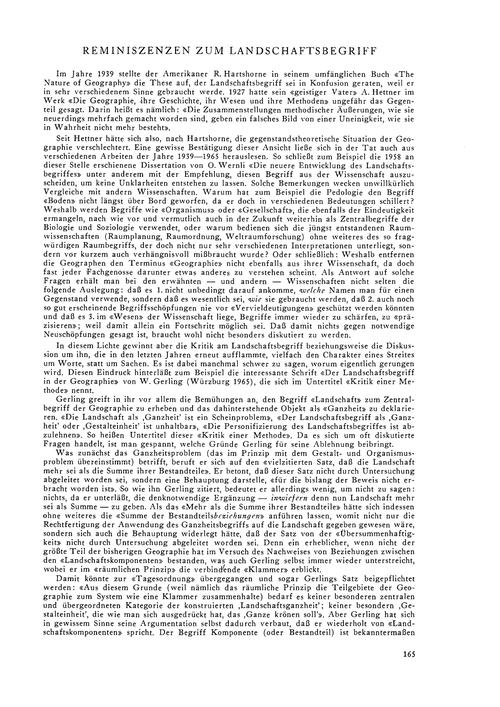 Reminiszenzen Zum Landschaftsbegriff : V... by Winkler, E.