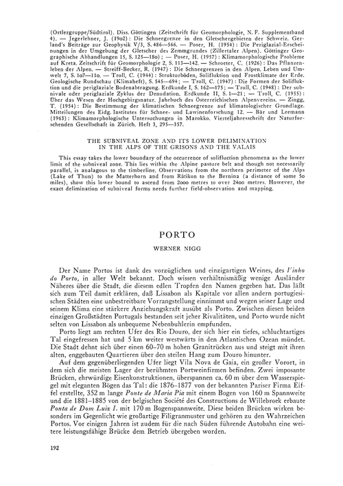 Porto : Volume 20, Issue 4 (30/11/-0001) by Nigg, W.