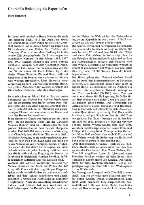 Churchills Bedeutung Als Exporthafen : V... by Bernhard, H.
