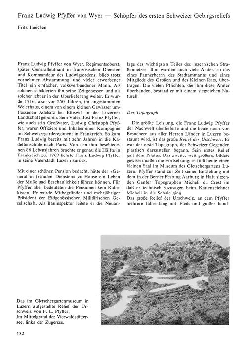 Franz Ludwig Pfyffer Von Wyer : Schöpfer... by Ineichen, F.