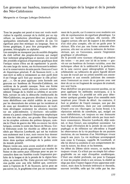 Les Gravures Sur Bambou : Transcription ... by Lobsinger-dellenbach, M.