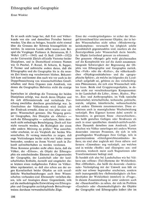 Ethnographie Und Geographie : Volume 21,... by Winkler, E.