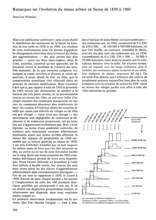 Remarques Sur L'Évolution Du Réseau Urba... by Piveteau, J.