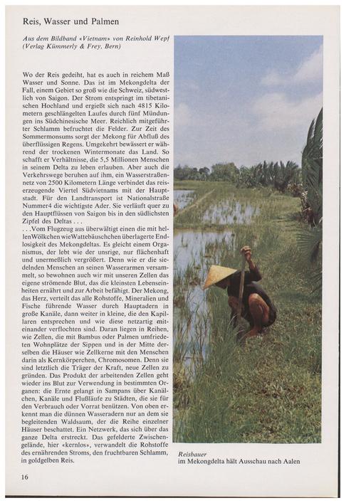 Reis, Wasser Und Palmen : Aus Dem Bildba... by Wepf, R.
