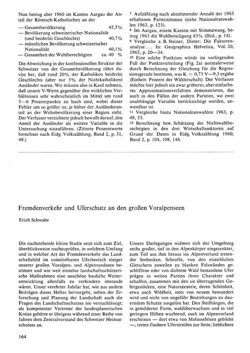 Fremdenverkehr Und Uferschutz an Den Gro... by Schwabe, E.