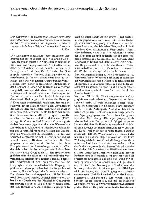 Skizze Einer Geschichte Der Angewandten ... by Winkler, E.