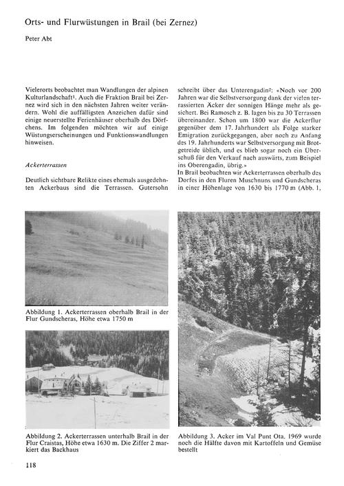 Orts- Und Flurwüstungen in Brail (Bei Ze... by Abt, P.
